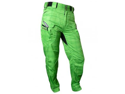 Kalhoty HAVEN Cubes Kingsize II green vel. S