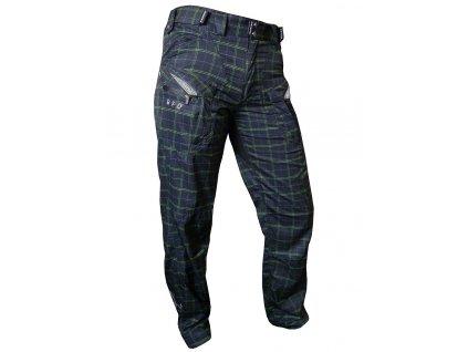 Kalhoty HAVEN Cubes Kingsize II black/green vel. S