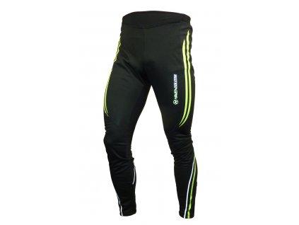 Kalhoty HAVEN ISOLEERA black/green, bez šlí - men/women vel.