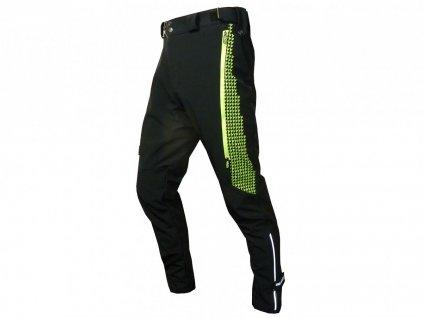 Kalhoty HAVEN RAINBRAIN LONG black/green vel.