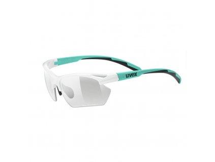 brýle UVEX Sportstyle 802 small V bílo/zelené