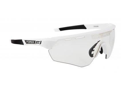 brýle FORCE ENIGMA bílé mat., fotochromatická skla