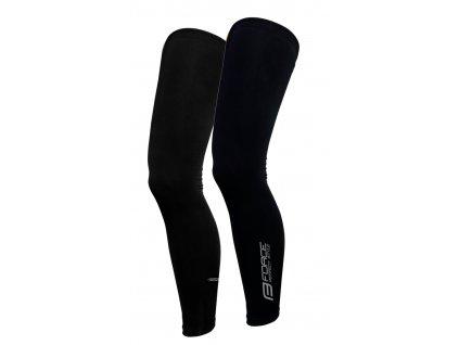 návleky na nohy FORCE TERM dlouhé, černé