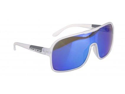 brýle FORCE MONDO bílé mat., modrá skla