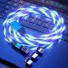 Svítící Magnetický nabíjecí kabel | 4 barevné varianty | 3 konektory