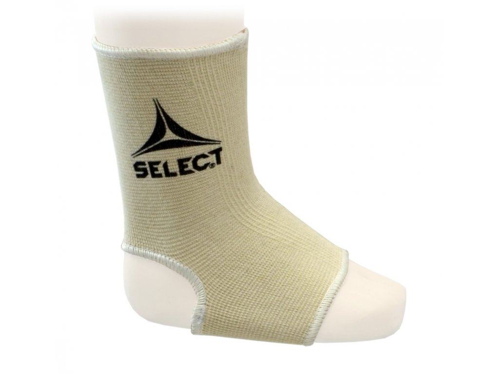 Bandáž kotníku Select Ankle support béžová