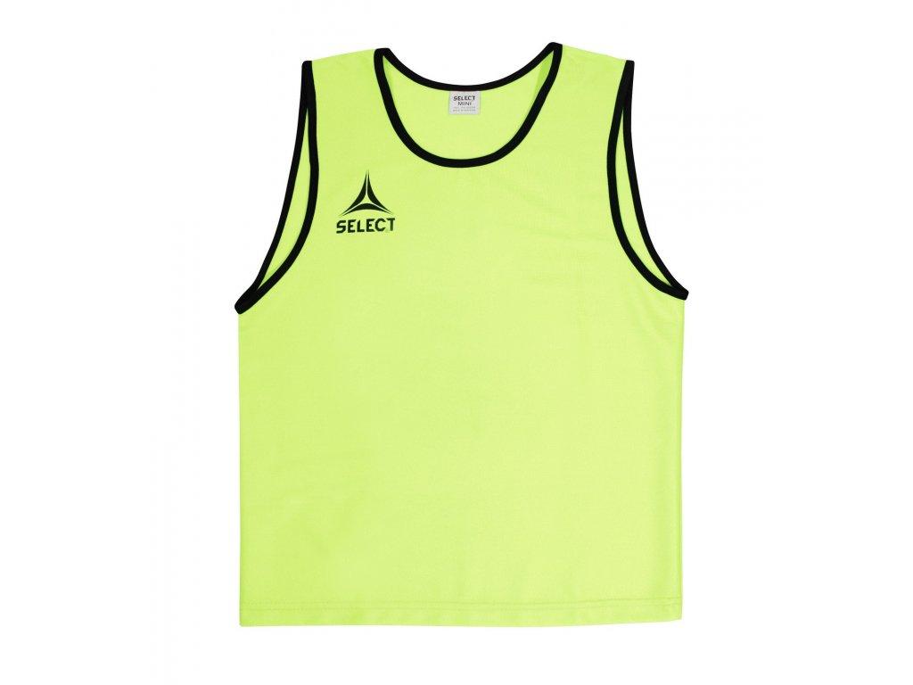 Rozlišovací triko Select Bibs Super žlutá
