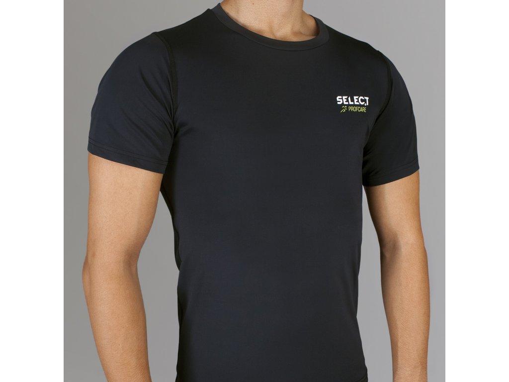 Kompresní triko Select Compression T-shirt S/S 6900 černá
