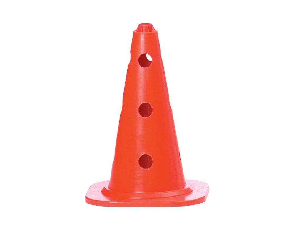 Značící kužel Select Marking cone s otovry červená