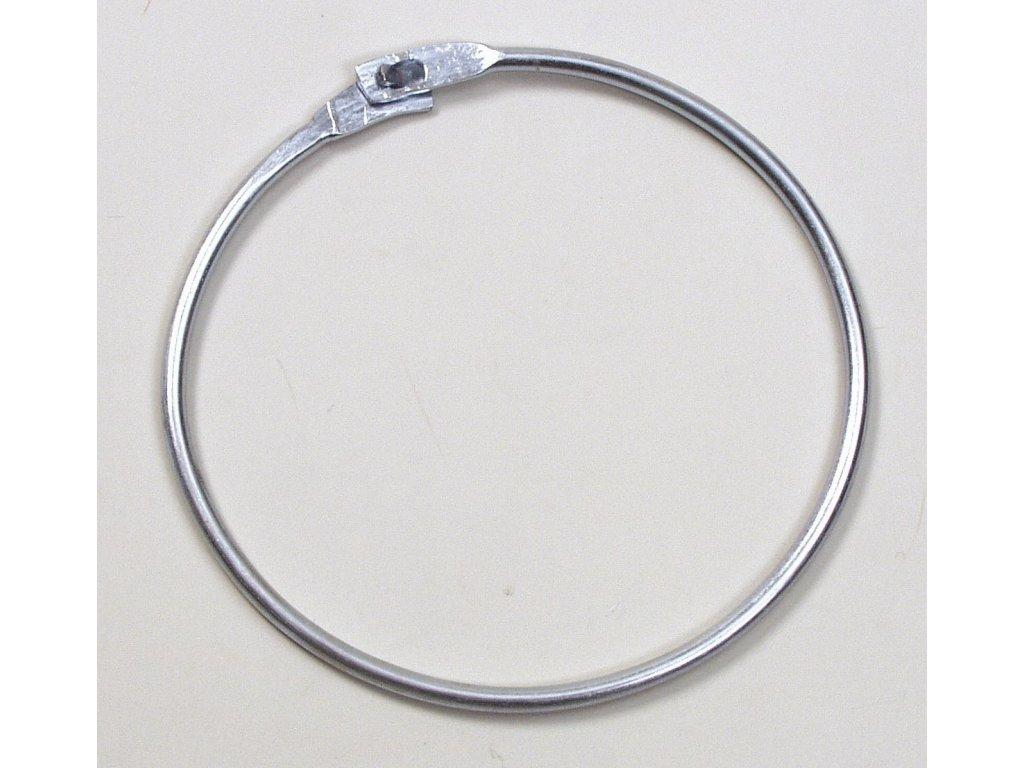 Spona na rozlišováky Select Metal rings for bibs stříbrná