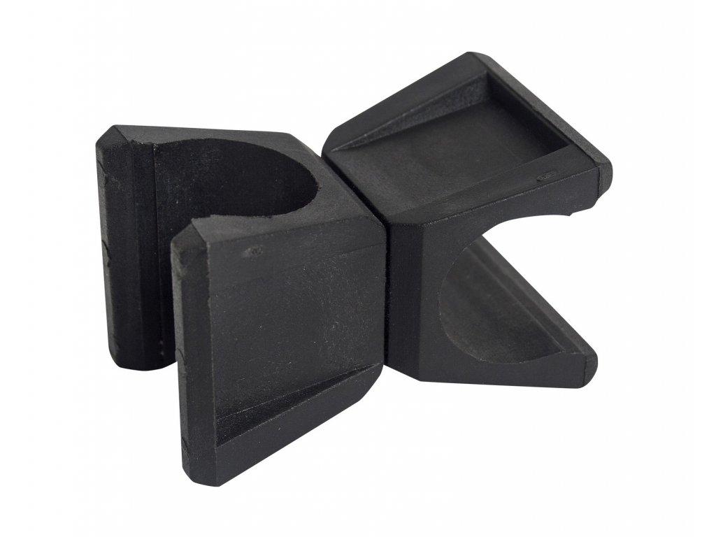 Držák tyčí Select Obstacle clip II for multi-trainer set černá