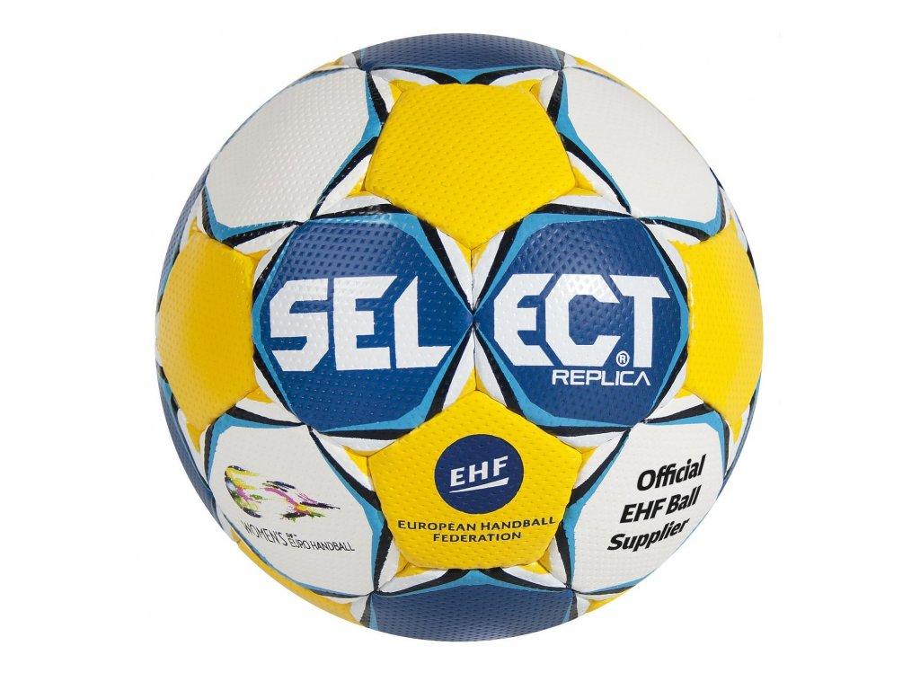 Házenkářský míč Select HB Ultimate Replica EC Sweden modro žlutá