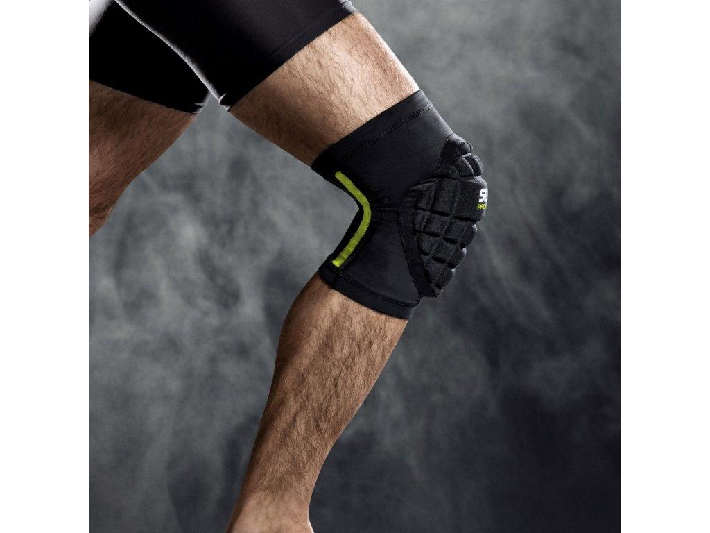 Chrániče na kolena Select Compression knee support handball 6250 černá