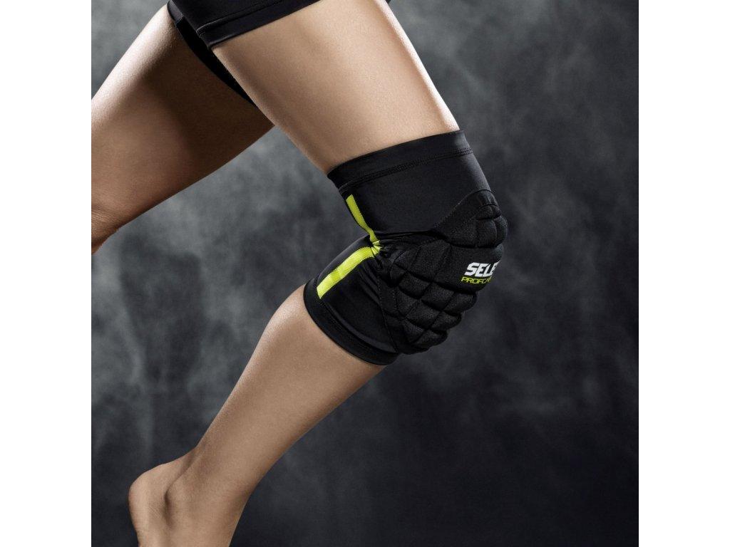 Chrániče na kolena Select Compression knee support handball 6251W černá
