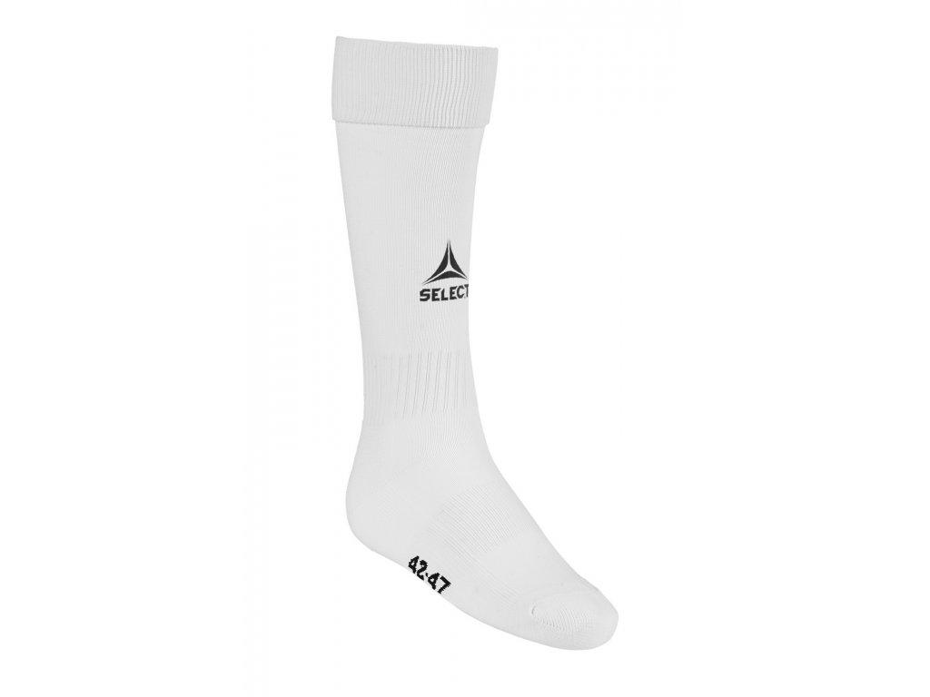 Fotbalové ponožky Select Football socks Elite bílá