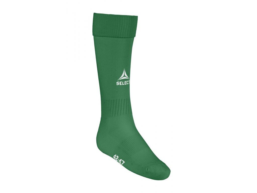Fotbalové ponožky Select Football socks Elite zelená