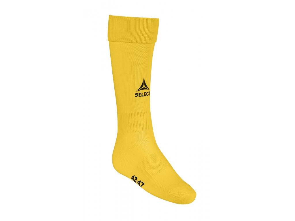 Fotbalové ponožky Select Football socks Elite žlutá