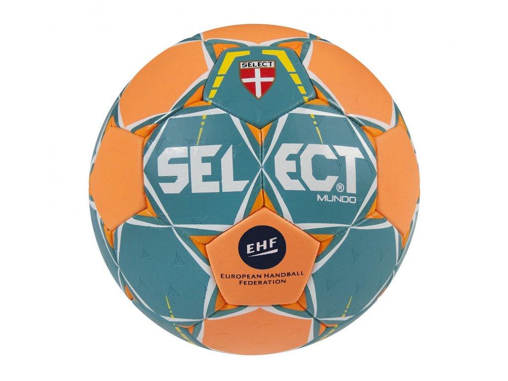 Házenkářský míč Select HB Mundo zeleno oranžová