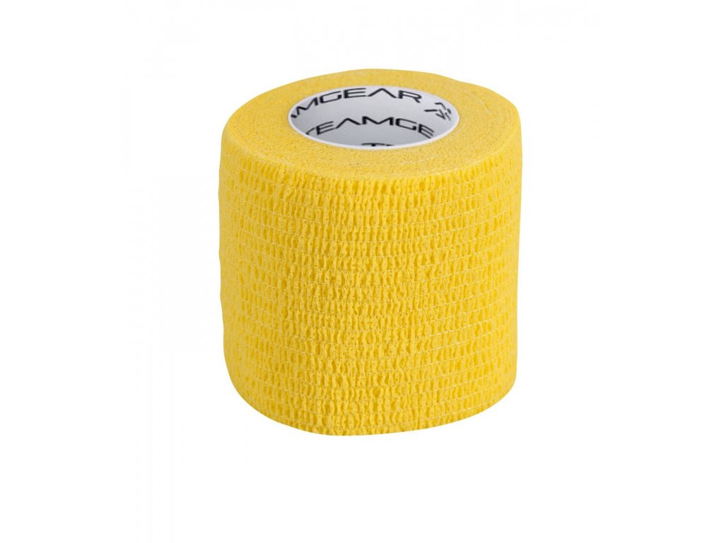 Tejp na ponožky Select Sock wrap žlutá