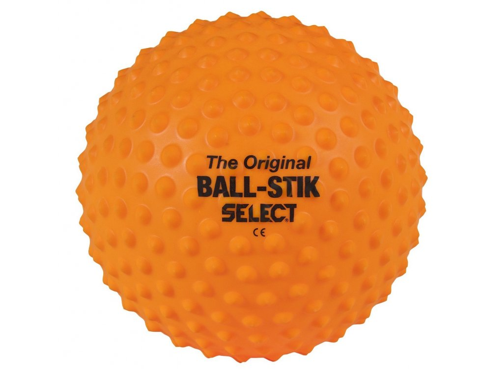 Masážní míč Select Ball-Stik oranžová