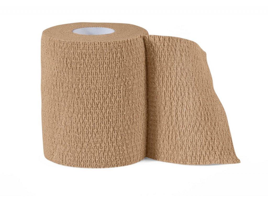 Bandáž Select Stretch Extra Bandage béžová 6 cm
