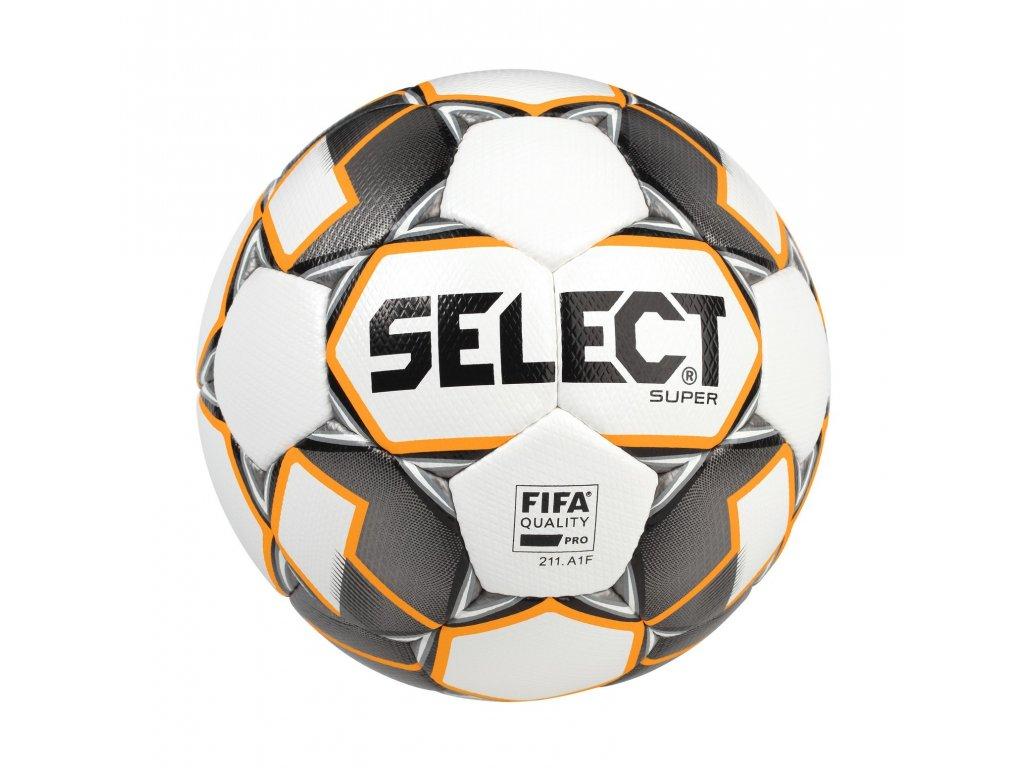 Fotbalový míč Select FB Super bílo šedá