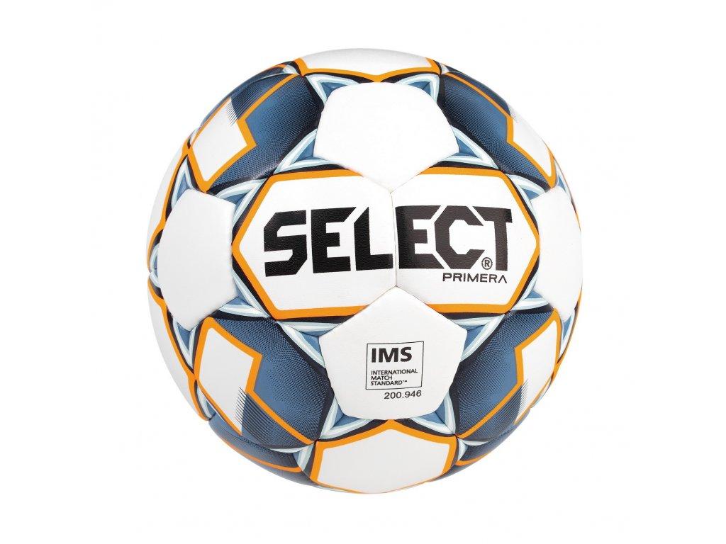Fotbalový míč Select FB Primera bílo modrá