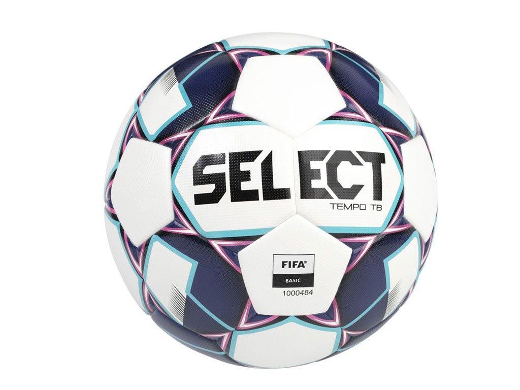 Fotbalový míč Select FB Tempo TB bílo fialová