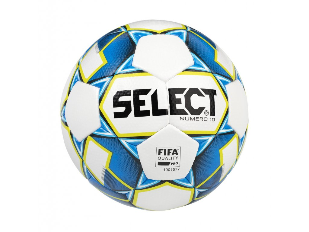 Fotbalový míč Select FB Numero 10 FIFA bílo modrá