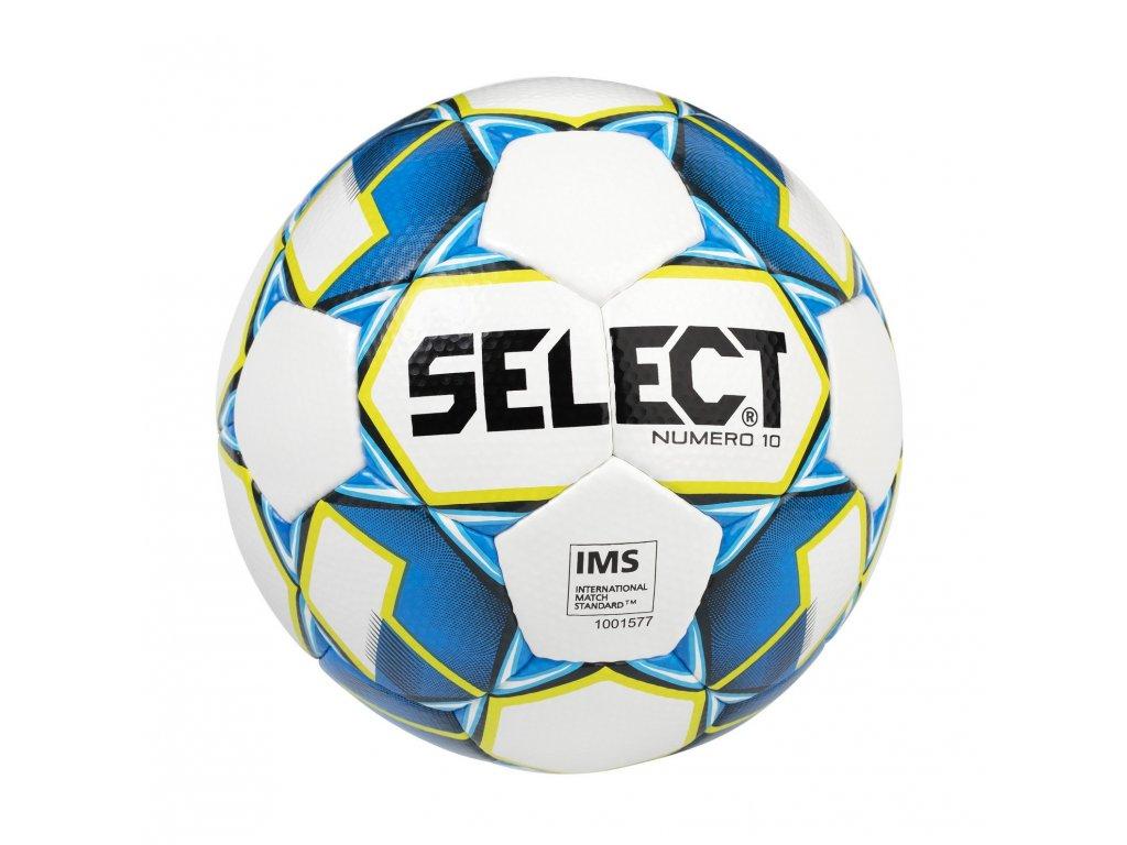 Fotbalový míč Select FB Numero 10 bílo modrá