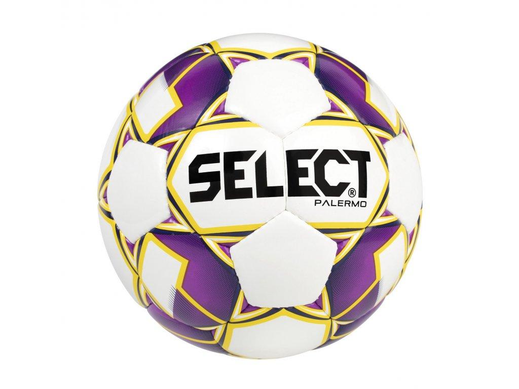 Fotbalový míč Select FB Palermo bílo fialová