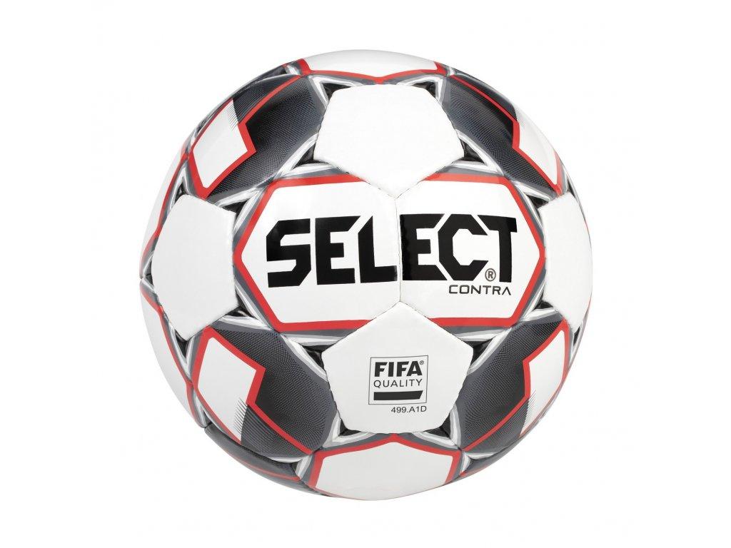 Fotbalový míč Select FB Contra FIFA bílo červená