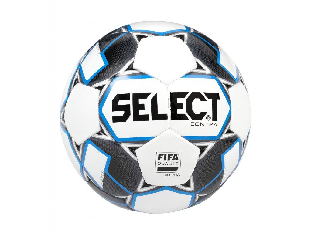 Fotbalový míč Select FB Contra FIFA bílo modrá