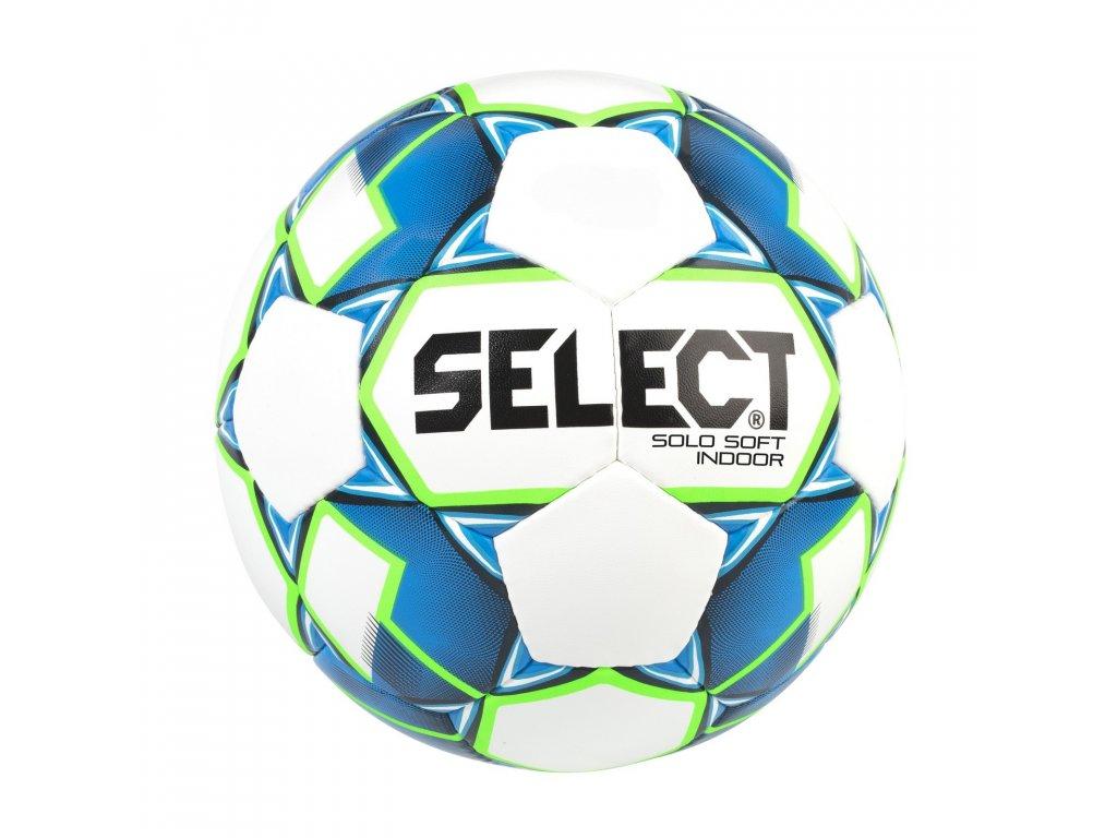 Fotbalový míč Select FB Solo Soft Indoor bílo modrá