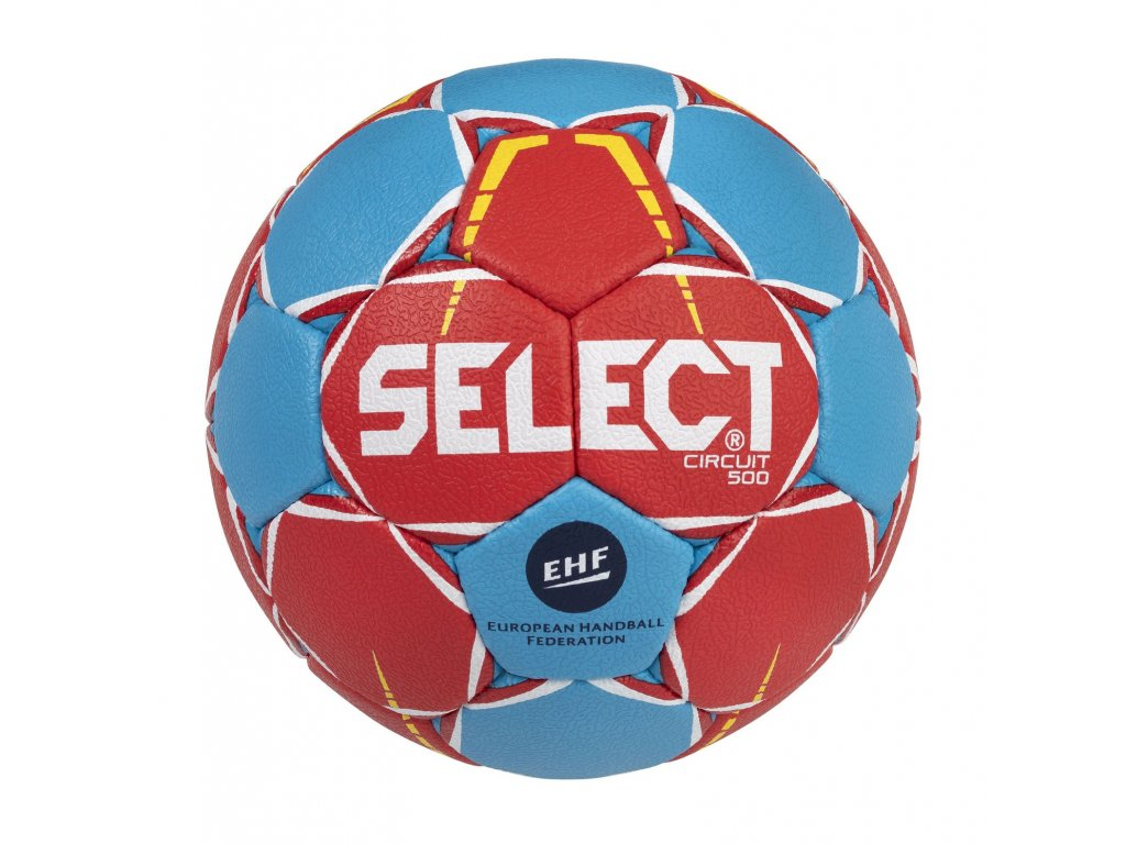 Házenkářský míč Select HB Circuit červeno modrá