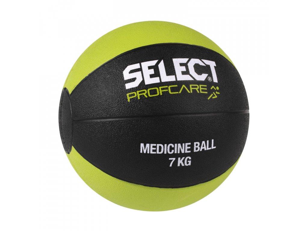 Těžký míč Select Medicine ball 7kg černo zelená