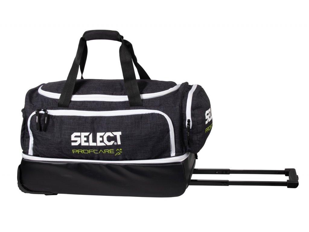 Lékařská taška Select Medical bag large w/wheels černo bílá