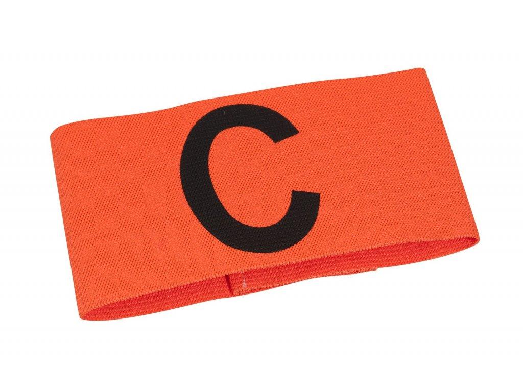 Kapitánská páska Select Captains band junior oranžová