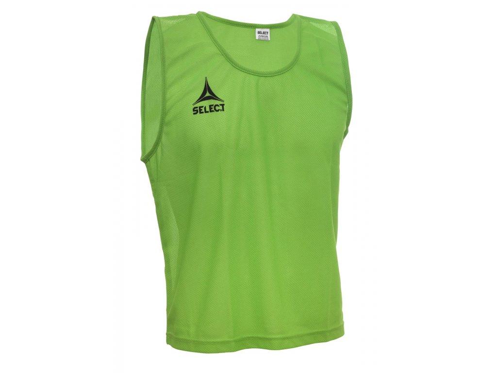 Rozlišovací triko Select Bib Basic zelená