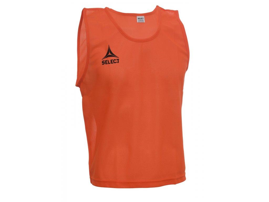 Rozlišovací triko Select Bib Basic oranžová