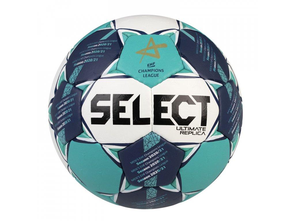Házenkářský míč Select HB Ultimate Replica CL Men bílo zelená