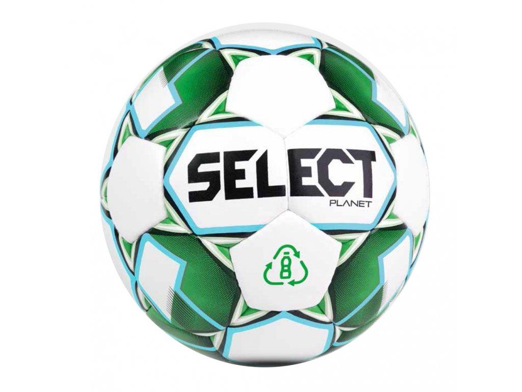 Fotbalový míč Select FB Planet bílo zelená