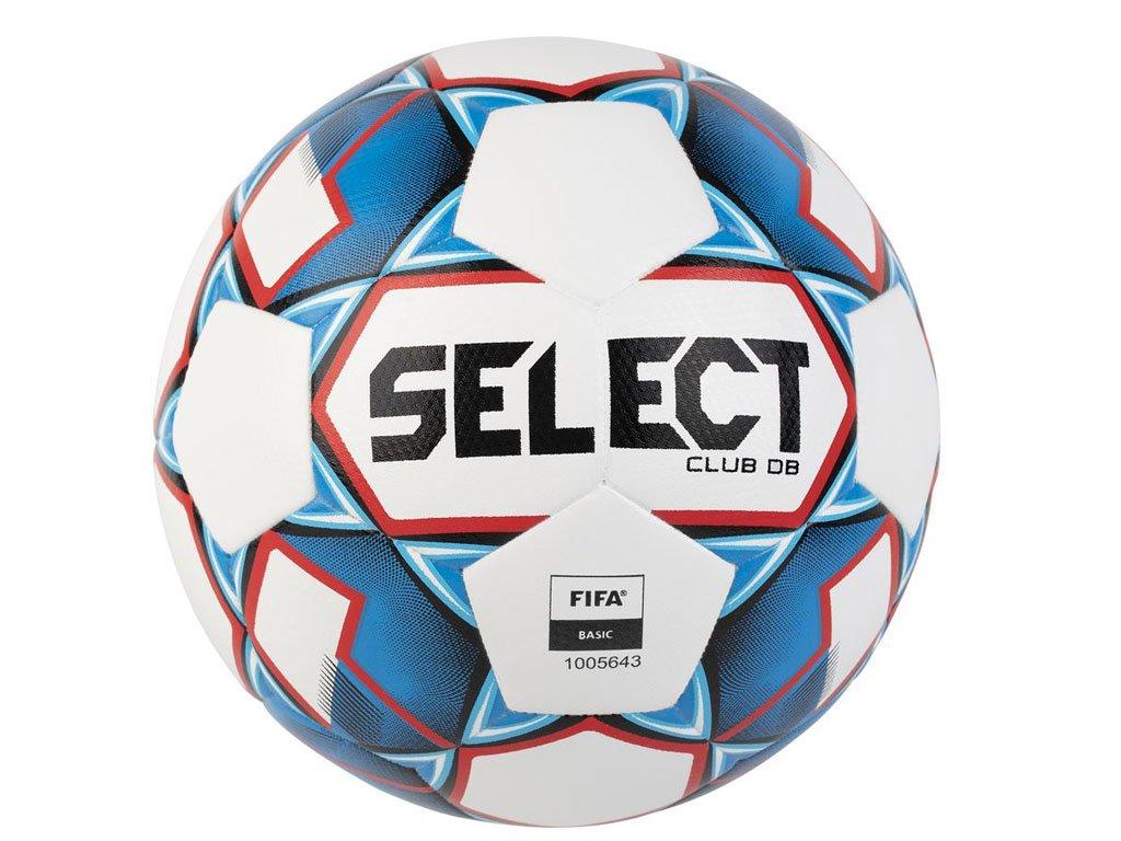 Fotbalový míč Select FB Club DB bílo modrá
