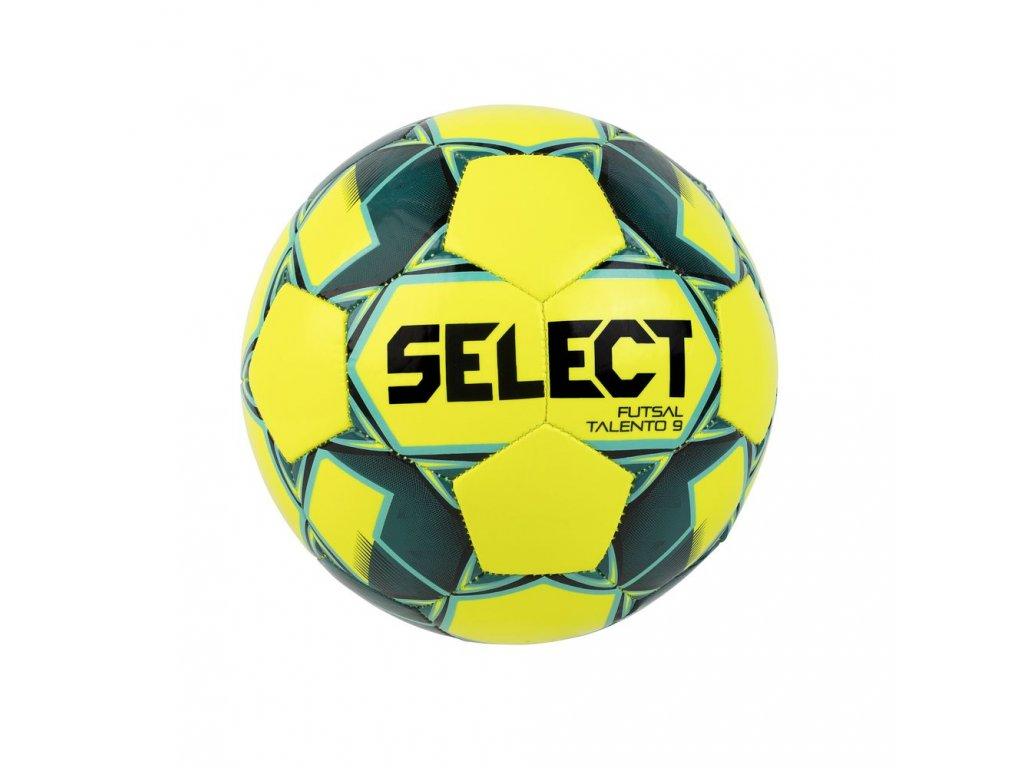 Futsalový míč Select FB Futsal Talento 9 žluto zelená