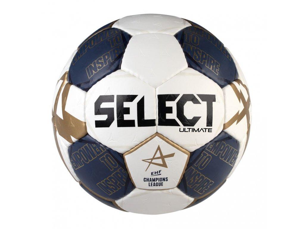 Házenkářský míč Select HB Ultimate CL bílo modrá