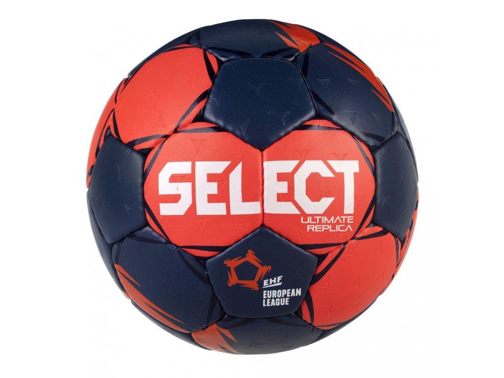 Házenkářský míč Select HB Ultimate Replica European League červeno modrá