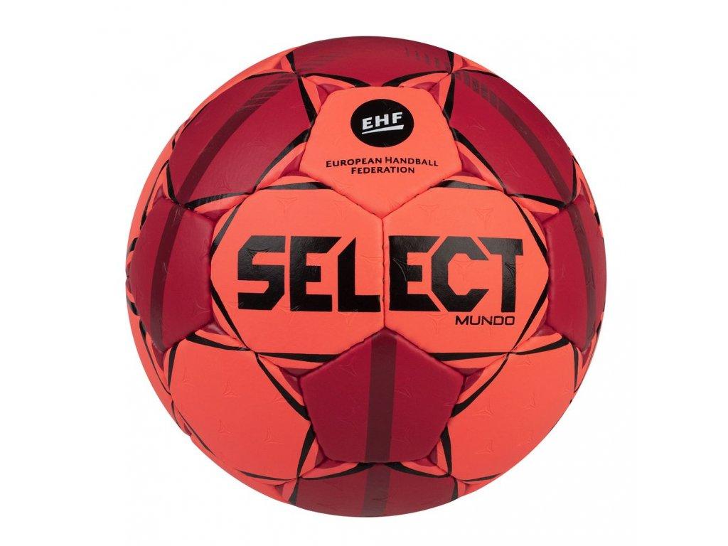 Házenkářský míč Select HB Mundo oranžovo červená
