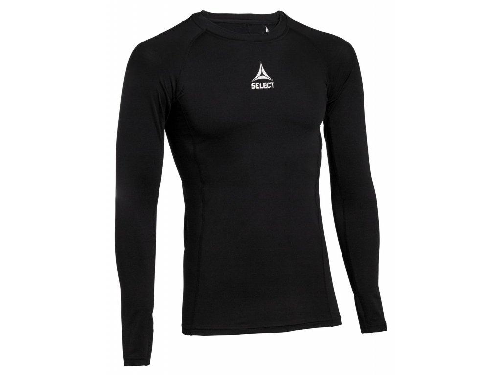 Kompresní triko Select Shirts L/S Baselayer černá