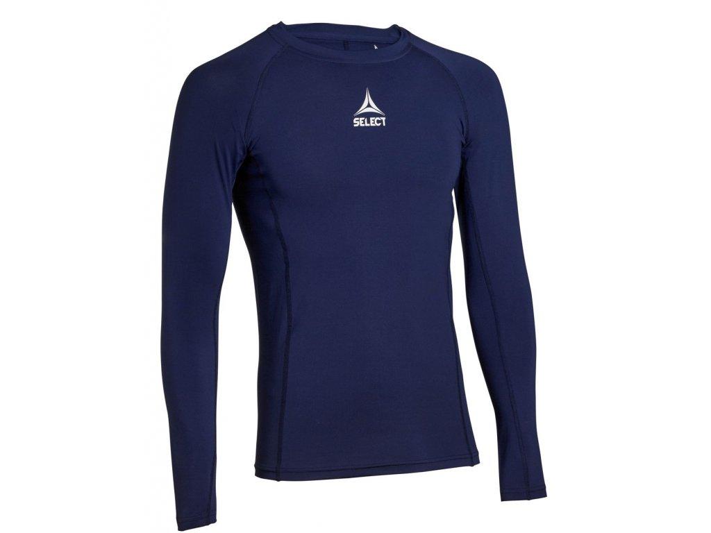 Kompresní triko Select Shirts L/S Baselayer tmavě modrá