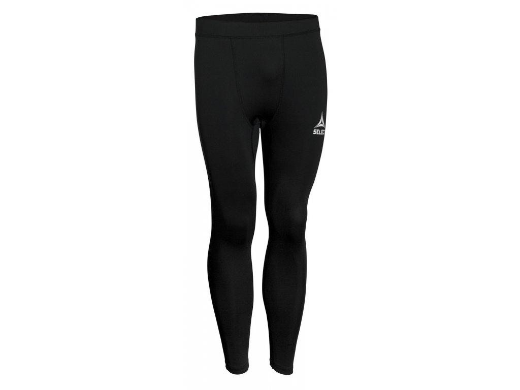 Kompresní kalhoty Select Tights pants Baselayer černá